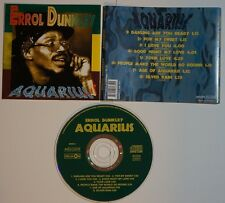 cd: ERROL DUNKLEY - AQUARIUS