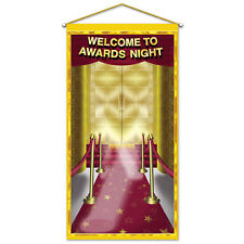 HOLLYWOOD AWARDS NIGHT DOOR PANEL / WALL PARTY DECORATION