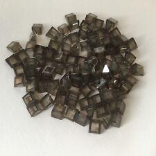 100 Lego Dachsteine Schrägsteine 1x1x2/3 transparent schwarz NEU 54200 rauch