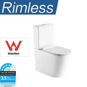 Rimless Toilet Suite Hygiene Flush - P OR S TRAP New
