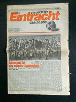 BL 73/74 Eintracht Frankfurt zur Generalversammlung am 07.06.1974