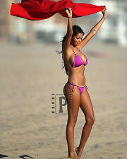 "Nabilla Benattia French Model Micro Bikini 8""x 10"" Sexy Color PHOTO REPRINT"