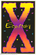 2 POSTERS :SIGN - ECSTASY -  XCSTASY -    FREE SHIPPING !   FL34S  LC4 B