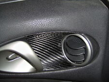 370Z 09-16 CARBON FIBER INSIDE DOOR BARREL COVERS