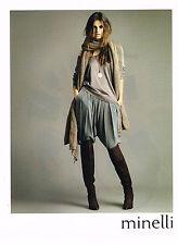 PUBLICITE ADVERTISING  2009  MINELLI  cuissardes chaussures