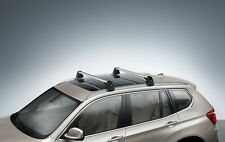 BMW Base Support System Roof Rack Cross Bars for F25 X3 Genuine OEM New