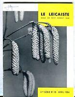 Le Leicaiste French Magazine April 1954 VG 040817nonjhe