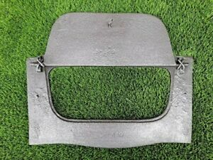 cast iron soot flap damper plate-solid fuel FIREPLACE SPARES