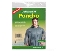 Poncho Olive Drab Lightweight Waterproof Coghlans Rain Gear for Survival Kit