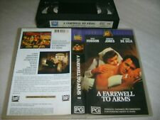 A FAREWELL TO ARMS (1957) - 1994 Fox Video VHS Re-Issue Ernest Hemingway Classic