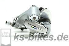 Shimano 600 ultegra tricolor rd-6400 7-especializada rear derailleur bicicleta de carreras
