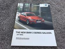 BMW 3 Series Saloon UK Brochure 2012 - 2/2011