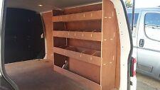 VW T5 Transporter LWB Van Racking Plywood Shelving Storage Accessories Tool Rack
