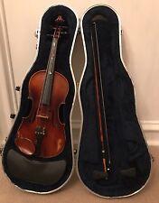 1961 E.R. PFRETZSCHNER Viola + SKB Case, Bow-Antonius Stradivarius Copy