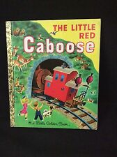 THE LITTLE RED CABOOSE - Little Golden Book 2002 5th printing Random House
