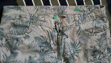 Mens United Colors Of Benetton Men's Cargo Shorts Cotton Size 36