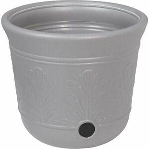 Suncast 300ft Heavy Duty 5 Gallon Decorative Hose Pot, Gray Speckle (Open Box)