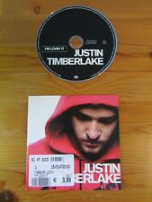 cd single Justin Timberlake - I'm lovin it