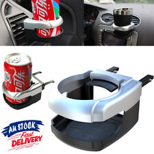 Auto silve Bracket Cup Holder Drinking Tray Mount Can Car Air Vent Bottle Coffee