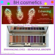 NEW BH Cosmetics ENHANCING EYES BEAUTIFUL BROWN Eye Shadow Palette FREE SHIPPING