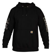 Hurley Men's Carhartt OG Fleece Hoodie Pullover BV0648 Black - New 2020