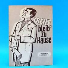 """610 Progress-Filmillustrierte 27/1956 """"Irene, bleib zu Hause"""" DDR Adolf Dymsza"""
