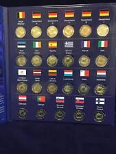 """23 x 2 Euro Gedenkmünzen 2015 """"30 Jahre Europaflagge """" Gemeinschaftsausgabe ALLE"""