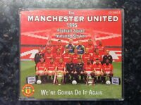 THE MANCHESTER UNITED FOOTBALL - 1995 SQUAD we're gonna do it again - CD Single