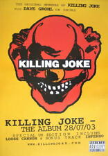 KILLING JOKE POSTER THE ALBUM WITH DAVE GROHL