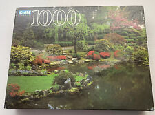 Vintage 1995 Guild Jigsaw Puzzle 1000 Japanese Garden Portland OR New Sealed USA