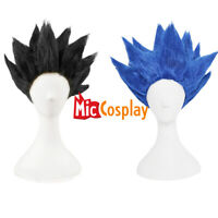 Goku Cosplay Wig Synthetic Wig Saiyan Hair Gold Black Blue