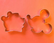 Mickey Mouse & Winnie the pooh party biscuit cookie cutter mold set