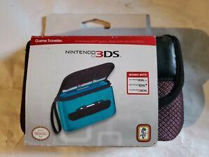 Nintendo Original 3DS Game Traveler Black / Burgundy (DS lite , DSi Compatible)
