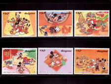[Guyana] Disney Mickey celebrates the Year of the Ox stamps ~ total 6 pic/set