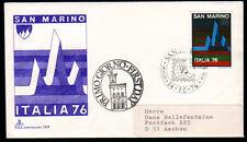 San Marino 1122 FDC, Briefmarken-Ausstellung Italia 76