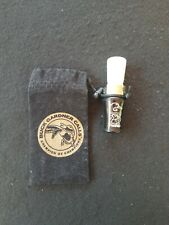 Buck Gardner Ducks Unlimited 75th Anniversary Duck Call Hunting Game Call Nice
