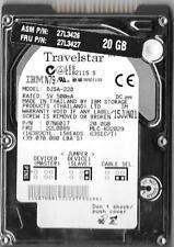IBM TRAVELSTAR DJSA-220 20GB IDE HARD DRIVE P/N: 07N6017  MLC: H32029