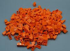 LEGO 30 x Dachsteine orange orange roof brick normal and invers