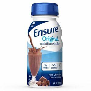 Ensure Original Nutrition shake Milk Chocolate Flavor 8 oz ( Pack of 6 )