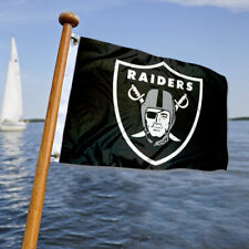 Oakland Raiders Small Mini Boat and Cart Flag