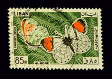 Lebanon Stamps 1965/  Butterfly 85 P.  / SC431 /Used
