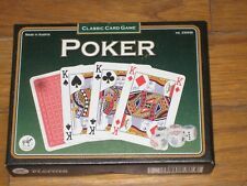 PIATNIK Poker Set - Brand New Card Game - CARTE DA POKER CON SET DADI PIATNIK