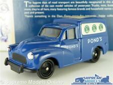 MORRIS MINOR VAN MODEL CAR POND'S POWDER 1:43 SCALE LLEDO DAYS GONE PONDS K8