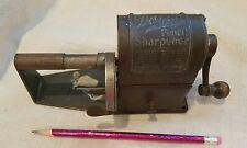 Collectible Antique Dandy Automatic hand crank pencil sharpener, 1920s