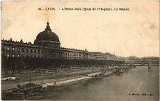 CPA LYON Hotel Dieu-Le Rhone (442255)