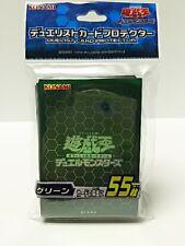 Yu-Gi-oh Official Card Sleeve Protector : Green / 55pcs Japanese anime