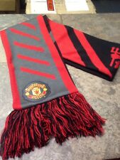 Nike Manchester United Soccer/Football Reversible Scarf -EXCELLENT