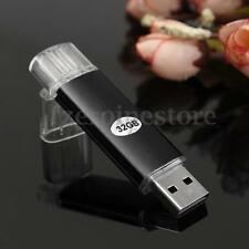 32GB 2 en 1 Micro USB 2.0 Flash Pen Drive Memory Memoria Stick OTG Función Movíl
