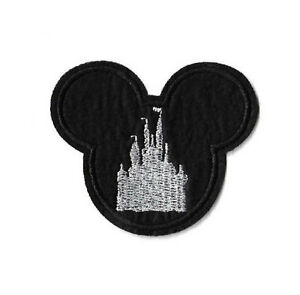 Mickey Mouse - Disneyland - World - White Castle - Embroidered Iron On Patch