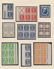 Bayern - Lot mit einigen Einheiten und Einzelmarken - meist postfrisch ** / * !!